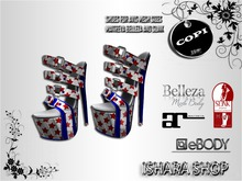 CIELOX SHOES 4th of july 2