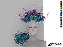 Zibska ~ Osanne Color Change Headpiece and Shoulder adornment