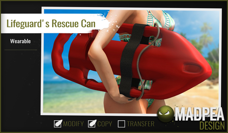 MadPea Lifeguard's Rescue Can
