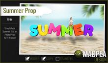 MadPea Summer Prop