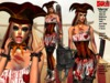 **AILEEN ASSASSIN CLOWN V2 STYLE COMPLET OUTFIT **