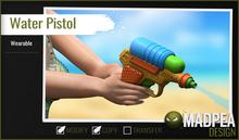 MadPea Water Pistol