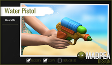 MadPea Water Pistol (add)