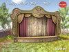 *SO* Vintage Floral Stage - SAGE