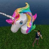 Giant Unicorn Balloon (Animated)