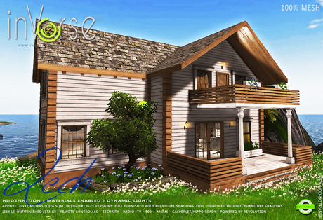 inVerse® MESH - LECH-  furnished Hi-definition classic house cottage