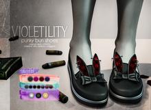 Violetility - Punky Bun Shoes