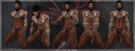 [ t.s.t ] Defeat Pose Pack [ WEAR & CLICK ]