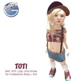 Baby Ghee - Toti Outfit - BAG (add to unpack)
