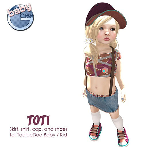 Baby Ghee - Toti DEMO BAG (add to unpack)