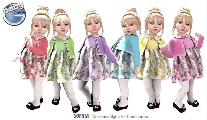 Baby Ghee - Sophia Dress Fatpack + Bonus - BAG (add to unpack)