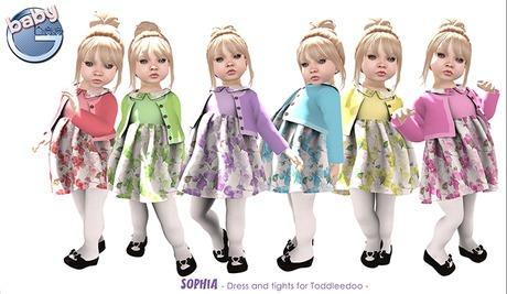 Baby Ghee - Sophia - BAG DEMO (add to unpack)
