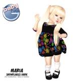 Baby Ghee - Maria Snowflakes Dark - BAG (add to unpack)