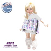 Baby Ghee - Maria Snowflakes  - DEMO  (add to unpack)