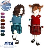 Baby Ghee - Mica Uniform - DEMO BAG  (add to unpack)