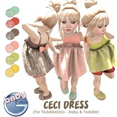 Baby Ghee - Ceci Dress - BAG (add to unpack)