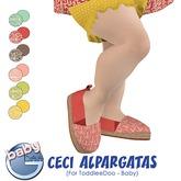Baby Ghee - Ceci Alpargatas B - BAG (add to unpack)