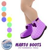 Baby Ghee - Martu Boots - B-  DEMO BAG (add to unpack)