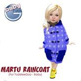 Baby Ghee - Martu Raincoat - B - DEMO BAG (add to unpack)