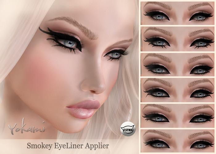 Yokami~Smokey Eyeliner [Catwa]