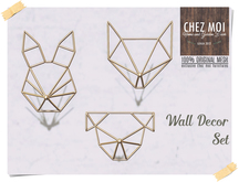 Wall Decor  Set ♥ CHEZ MOI
