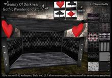 .:BoD:. Gothic Wonderland Stalls