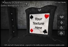 .:BoD:. Gothic Wonderland Display