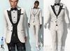L&B - Tuxedo - Bow Tie - Marc - White