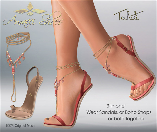 Amacci Shoes - Tahiti - DEMO