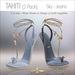 Amacci Shoes - Tahiti - Sky/Jeans