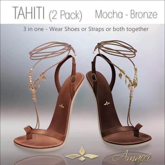 Amacci Shoes - Tahiti - Mocha/Bronze