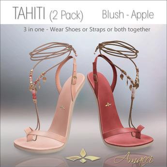 Amacci Shoes - Tahiti - Blush/Apple