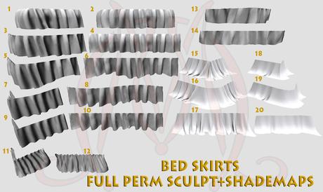 Bed Skirts FULL PERM SCULPT+SHADEMAPS
