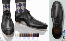 L&B - Oxford Dress Shoe - Edge - Tuxedo Shoes