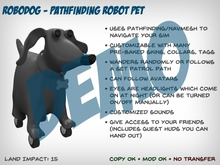 RoboDog DEMO - Pathfinding Robot Pet