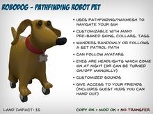 RoboDog - Customizable Pathfinding Robot Pet