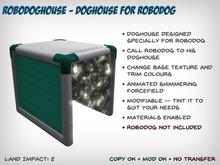 RoboDoghouse - Dog House for RoboDog