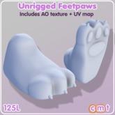 moldco Unrigged Feetpaws