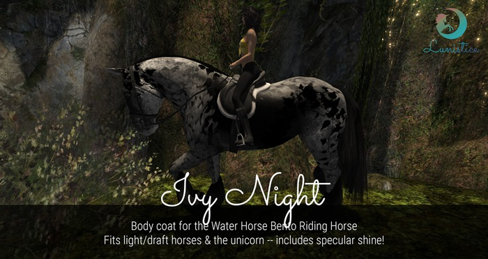 Lunistice: Ivy Night - Water Horse Body Coat