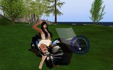 AITUI - Animated Hoverbike - Blue