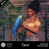 .::Hazeel::. Parrot ~Bento Pose