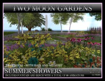 TMG - SUMMER SHOWERS* Landscaped Garden Park with and without rain.