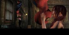 p.o.s.e. spiderman kiss