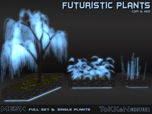 **To(kk)en Industries** Futuristic Plants Set (Mesh)