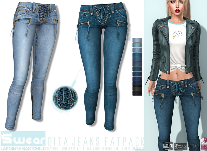 L&B - Denim Jeans - Dita