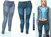 L&B - Denim Jeans - Moto