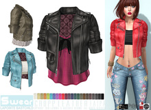 L&B - Leather Jacket - Cropped