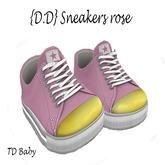 {D:D} sneakers rose