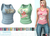 L&B - Tank Top - Retro T-shirt