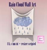 {.Gross Princess.} Rain Cloud Wall Art